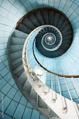 Spiral staircase - 18649302