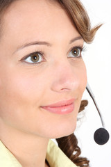 Portrait Callcenter-Agent