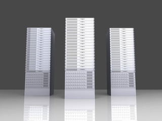 19inch Server towers..