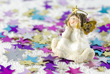 Christmas Decoration Angel Figurine