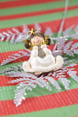 Christmas Decoration Angel Figurine