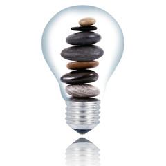 lampadina pietre