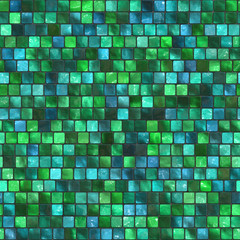 Abstract seamless tiles background