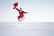 Santa Claus Extremsportler