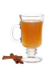 Apple Cider And Cinnamon Sticks