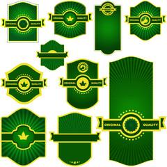 Set of design elements. Vector set.