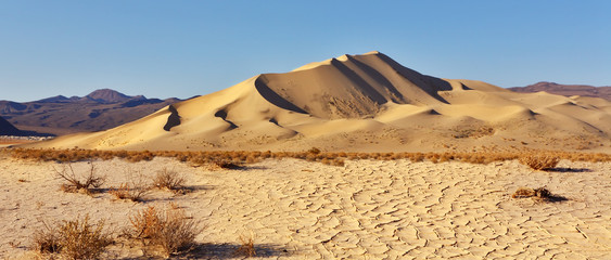 Magnificent dune Eureka in Dead Walley