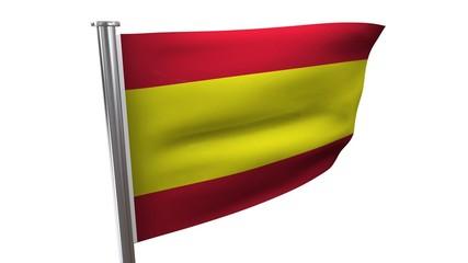 Video Fahne Spanien