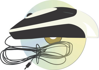 Illustration of Optical mouse