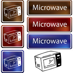 Microwave Cloud Icon