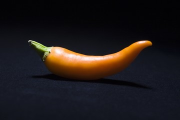 Orange chilli pepper