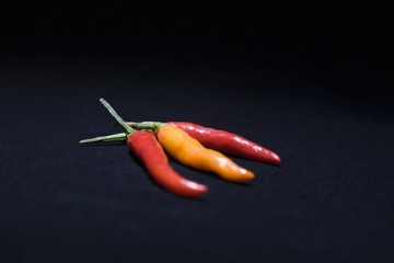 Three chilli peppers