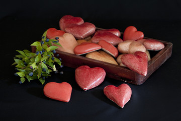 Herz aus Keramik