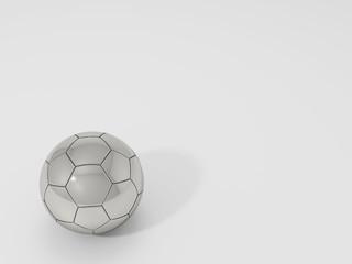 metal football