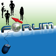 Forum on the internet