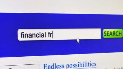 Financial Freedom - fictional search engine
