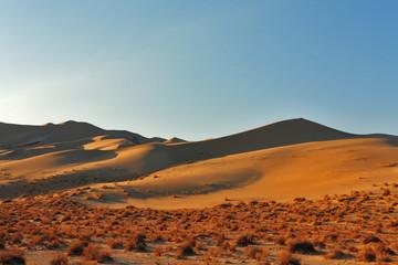 The Eureka in desert on sunrise