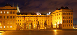 President House in Old Town in Prague Castle area. poster