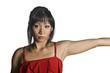 asiatische Frau