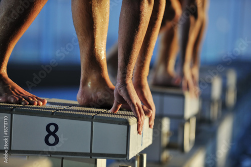 swimming start - 18711710