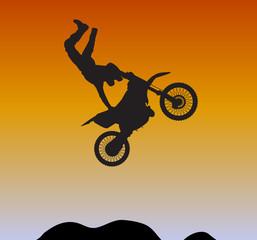 motocross extreme biking