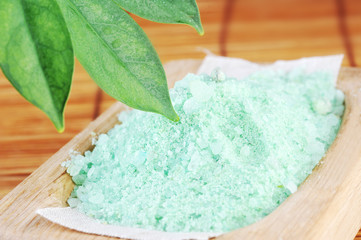 Green sea salt