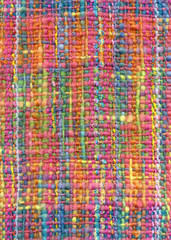 Decorative mohair shawl, detail. Extra large image, 18.9 MB