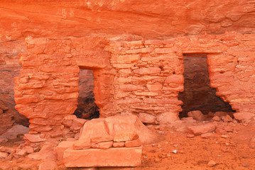 Ancient Navajo Anasazi dwelling