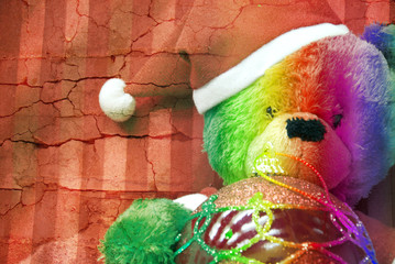 Orso natalizio