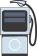 Illustration of a symbol of fuel pump