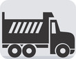 Illustration of a symbol of truck carrier