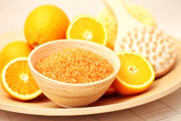 orange bath salt