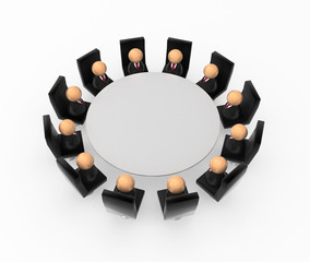 Business Symbols, Round Table