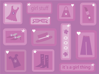"""""""It´s a girl thing"""" collection"""
