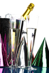 Celebration with alcohol