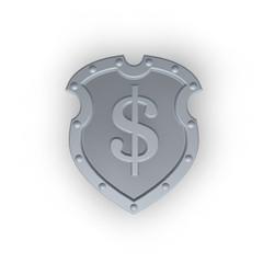 dollarzeichen auf einem schild