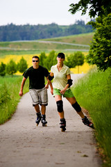 rollerblades for two