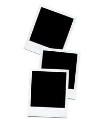 Empty Polaroid  photo blanks
