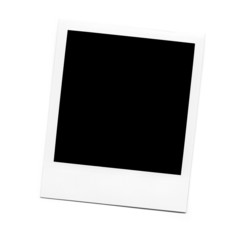 Empty Polaroid  photo blank