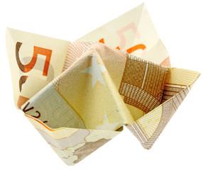 salière billet 50 euros fond blanc