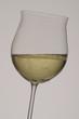 Bicchiere di vino frizzante