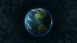 HD 1080 - Planet Earth rotates