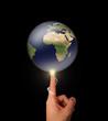 Concept environnemental / Création du monde