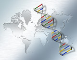 World Genetic poster