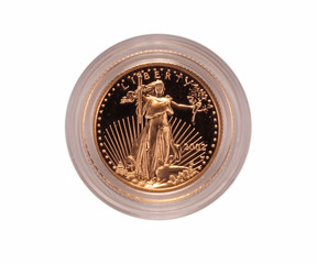 United States gold coin