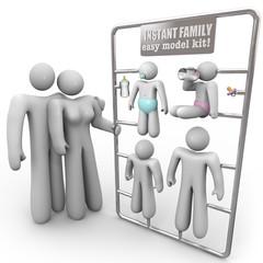 Instant Family Model Kit