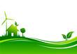 Fond maison écologie