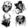 skull art collection