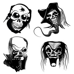 skull art collection