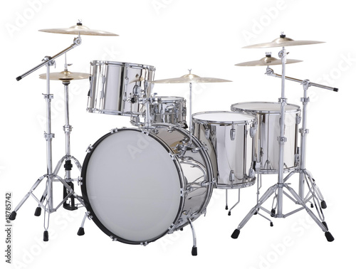 Silver drums - 18785742